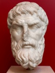 Epicurus, National Roman Museum, photo by the author