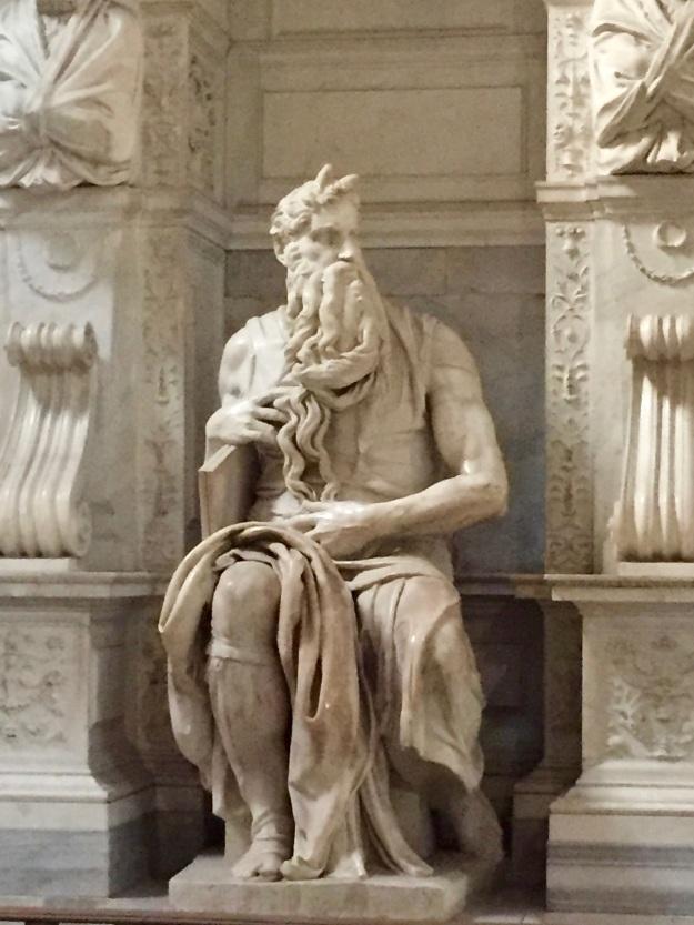 Mosè di Michelangelo, Basilica San Pietro in Vincoli