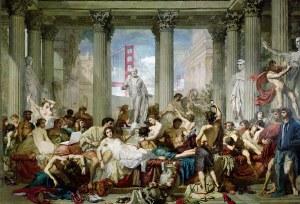 Roman style orgy